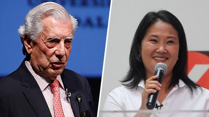 """Vargas Llosa pidió votar por Keiko, """"es el mal menor"""""""